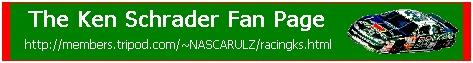 Ken Schrader Banner