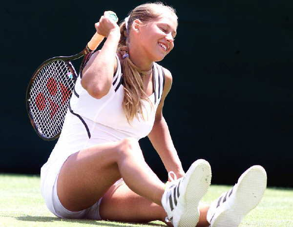 anna kournikova tennis. Anna K Tennis Image