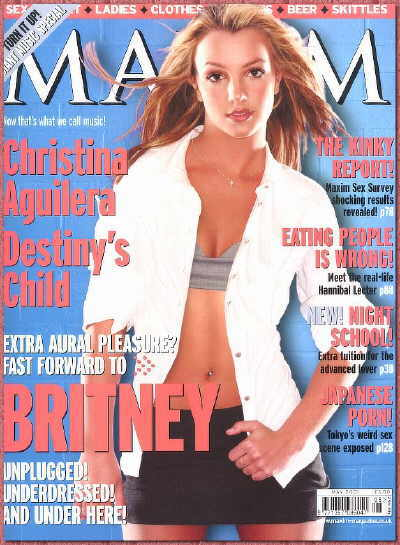 Britney Spears - Maxim Cover