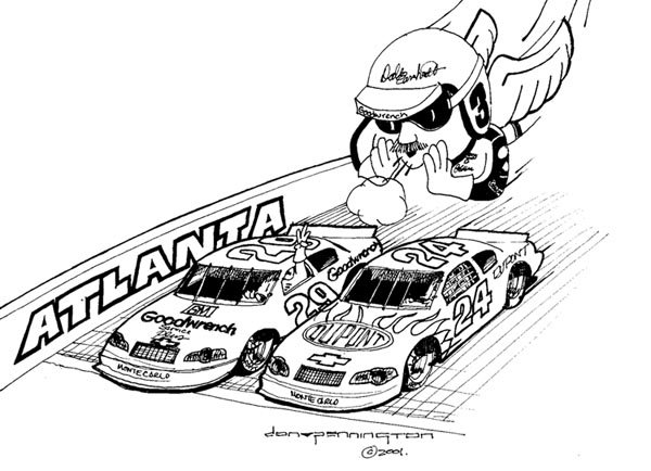 dale earnhardt junior coloring pages - photo#12