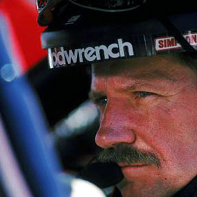 Dale Earnhardt in Car