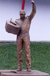 Dale Earnhardt Statue at Daytona International Speedway
