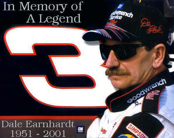 Dale Earnhardt Memorial Image