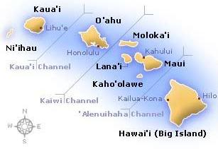 Map of Hawai'i