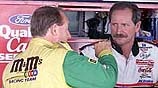 Schrader and Dale Earnhardt