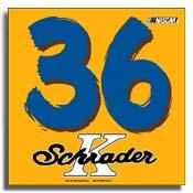 Schrader Car Flag