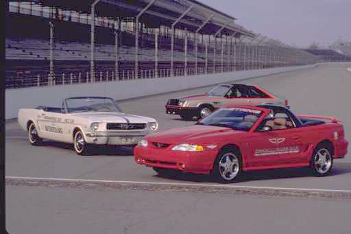 Mustang Pace Cars