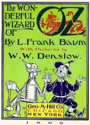 L. Frank Baum's Wizard of Oz Book Cover