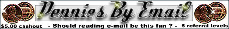 PenniesByEmail Banner