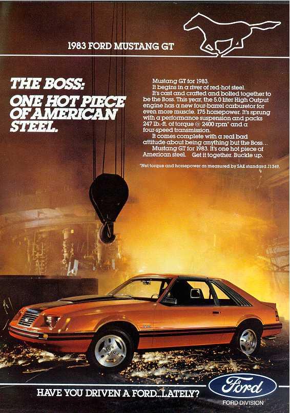 1983 Advertisement